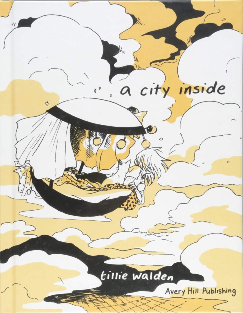 The cover of 'A City Inside'